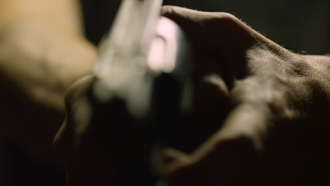 Hand Gun Being Pointed VI