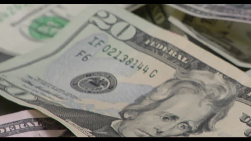 Currency on the Table | Shutterstock HD Video #2032243