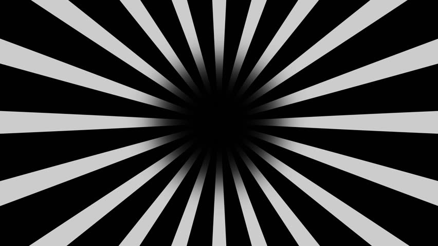 Black And White Burst Vector Stockowy Material Wideo 100