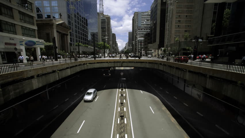 Time-lapse of Av. Paulista in Sao Paulo