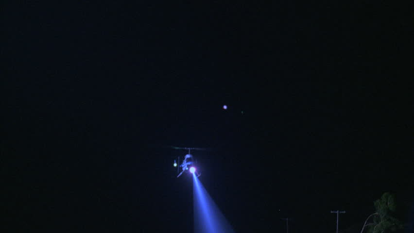 Stock Video Of Night Ground Air Up Blue White 20678923