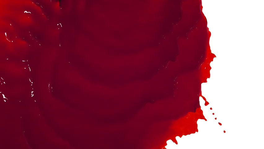 Red liquid flows and fills the screen slow motion. tinted oil | Shutterstock HD Video #20708527