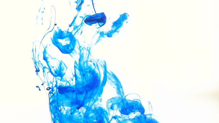 Blue Ink in Water creative Slow Stock Footage Video (100% Royalty-free)  20912293 | Shutterstock