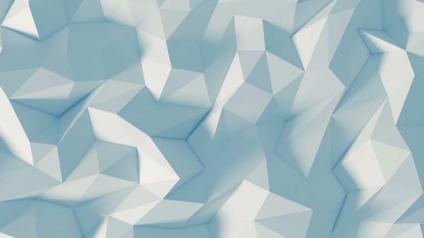 Polygon 3d background - Digital animation | Shutterstock HD Video #20944993