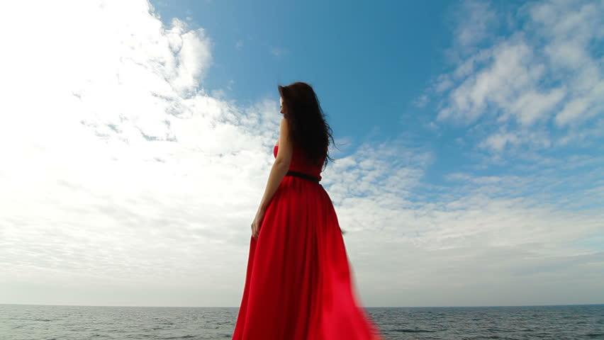 Woman Walking Away Stock Footage Video | Shutterstock