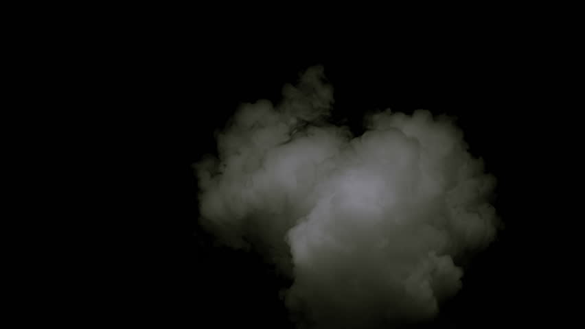 High quality motion animation representing neon smoke in slow-motion, animated on a black background.