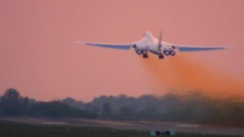 Takeoff in afterburner