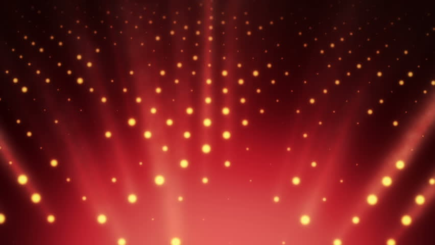 Abstract background with wall from lamps of bright light. Glowing and bright light bulbs. Projector of light rays. Animation of seamless loop. | Shutterstock HD Video #21158911