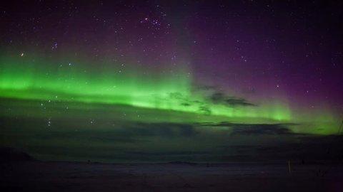 Northern Lights, southern Spitsbergen