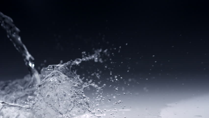 Super slo-mo water splashing