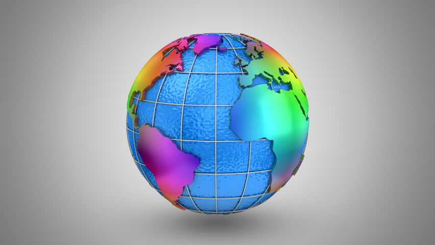 Stock video of world map turns into a globe 21259840 shutterstock visually similar footage gumiabroncs Image collections
