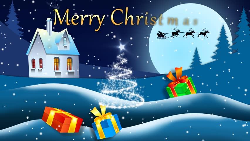 Stock video of christmas card animated 3 21271738 shutterstock hd0028christmas card animated 5 m4hsunfo