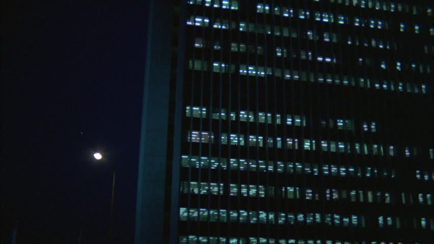 Night Up angle Push large government office building | Shutterstock HD Video #21292513