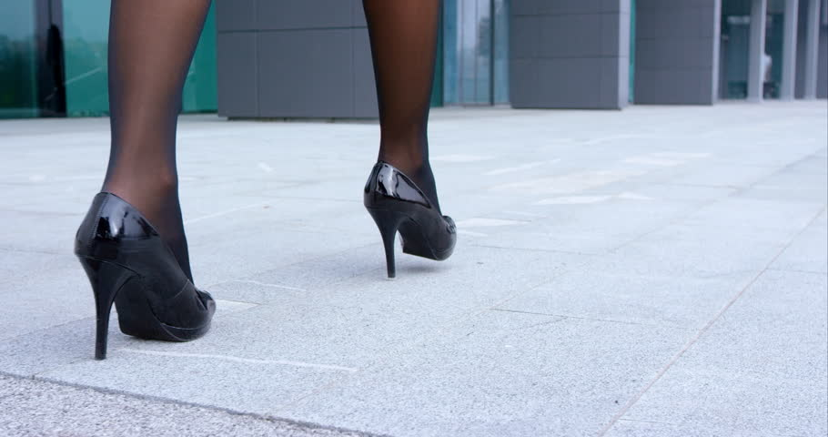 On High Stock Video100Royalty Up Of Footage Free21304813Shutterstock Close Heels QdBWxEroeC