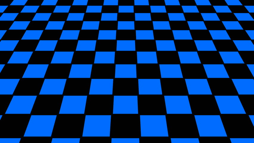 Virtual Floor Chess Background Seamless Loop Stock