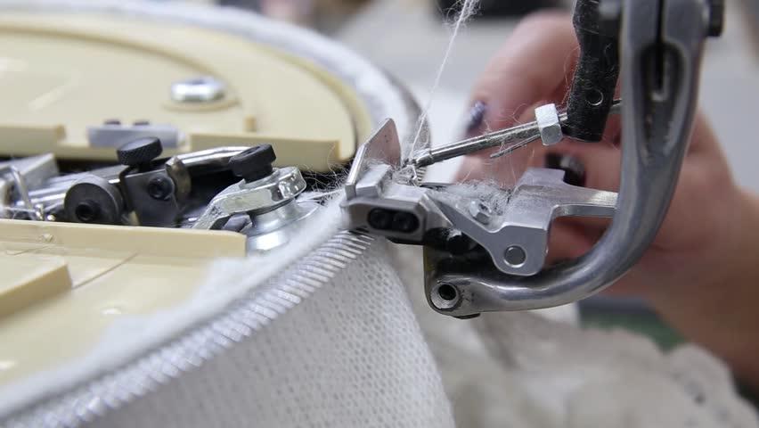 Production of goat down shawl, shawl, Orenburg shawl