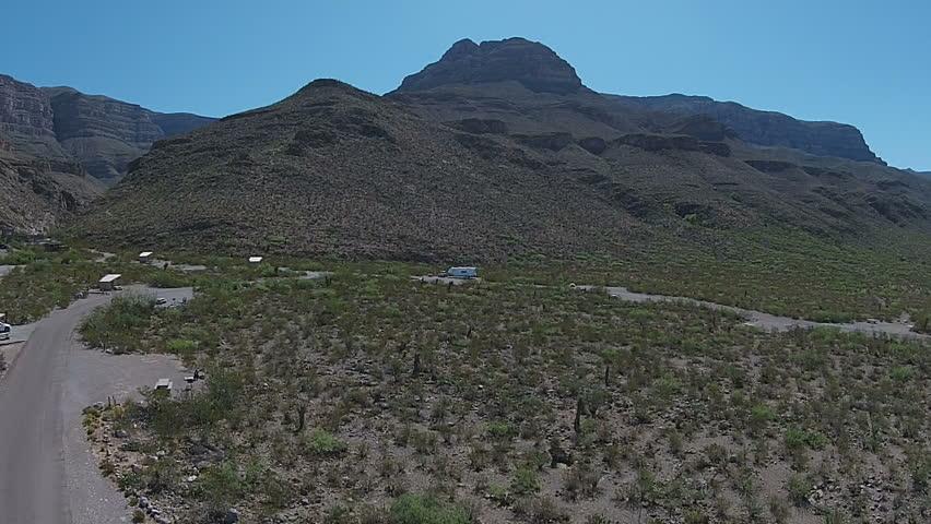 Aerial drone footage over eastern Arizona desert. | Shutterstock HD Video #21446443