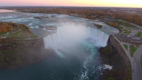Amazing aerial video Niagara Falls