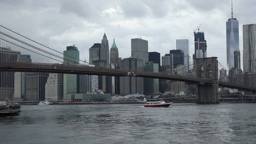 View to Manhattan from Brooklyn Stock Footage Video (100% Royalty-free)  21634363 | Shutterstock