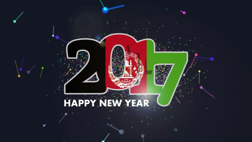 year 2017 with afghanistan flag stock footage video 100 royalty free 21729523 shutterstock