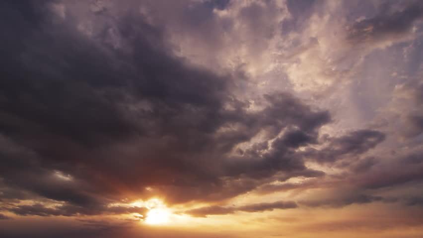 Sunlight penetration of cloud