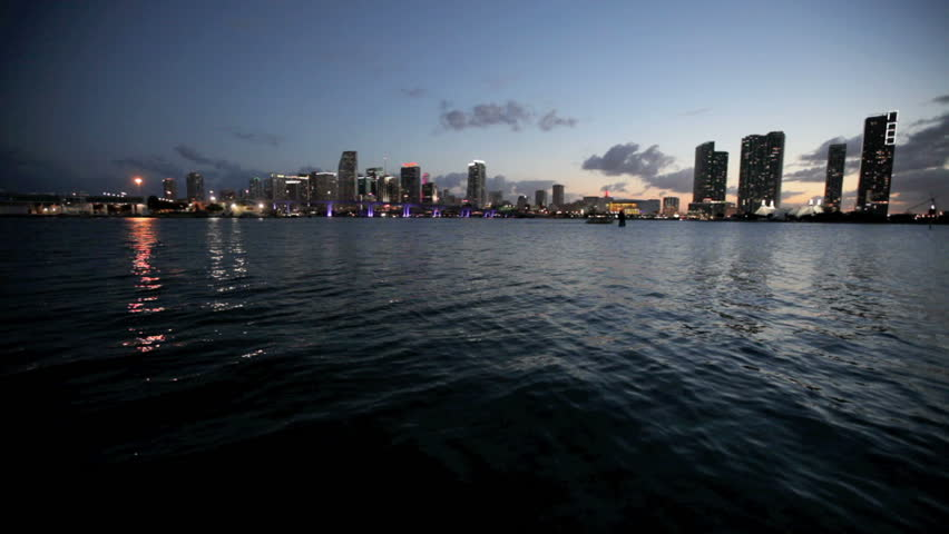 Time lapse video of Downtown Miami | Shutterstock HD Video #2177377