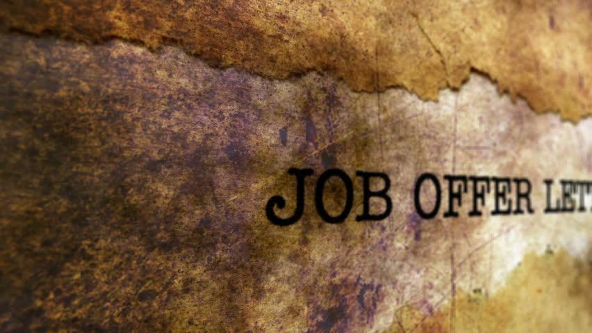 Stock video of job offer letter 21868933 shutterstock hd0010job offer letter thecheapjerseys Gallery