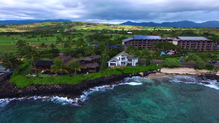 NaPali Coast Hawaii, Stunning Views   Shutterstock HD Video #21922933