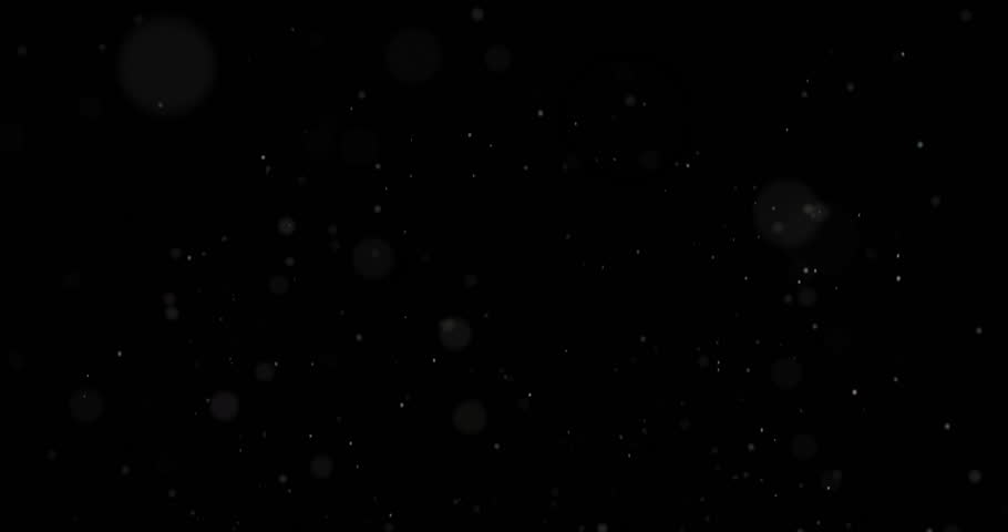 Abstract White Particles Motion on Black Background  | Shutterstock HD Video #21933883