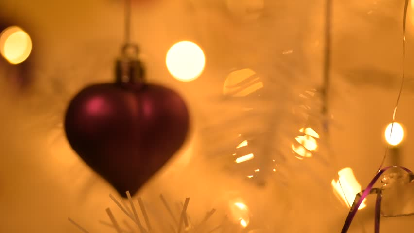 best website c5cd6 d36ff Heart Shaped Christmas Tree Decoration Stock Footage Video (100%  Royalty-free) 21935863 | Shutterstock