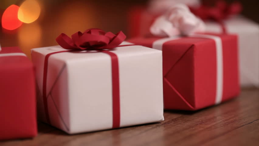 Dolly Shot Of Present Boxes Stock Footage Video 100 Royalty Free 21964363 Shutterstock