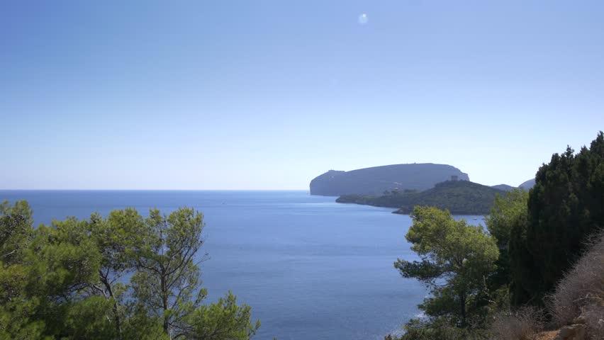 Beautiful coastline of Sardinia in UHD.  | Shutterstock HD Video #22143004