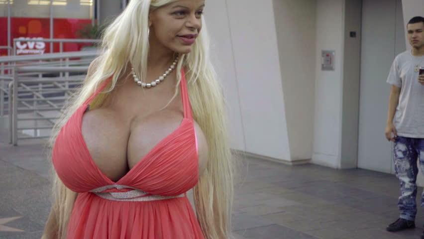 Blonde girl fucked by black men