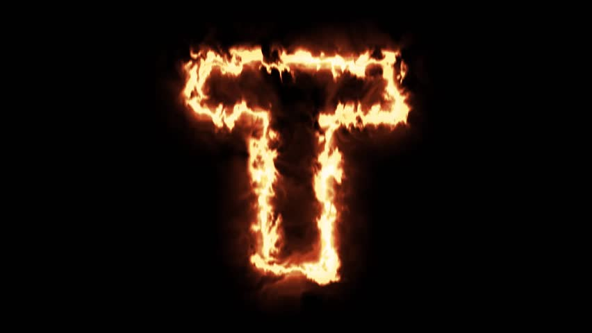 Letter U On Fire Stock...U Letter Design Wallpaper