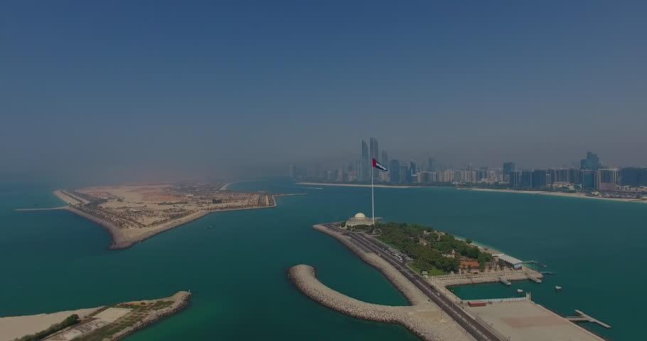 Abu Dhabi Flag approach