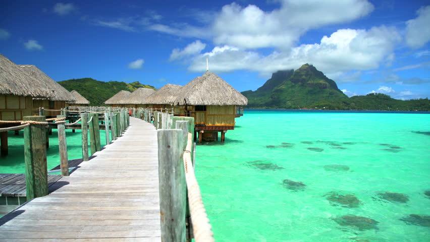 View Of Bora Bora Island Videos De Stock 100 Libres De Droit 22491643 Shutterstock