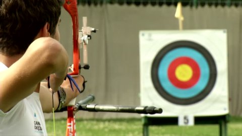 Archery Bow Arrow Target From High Definition