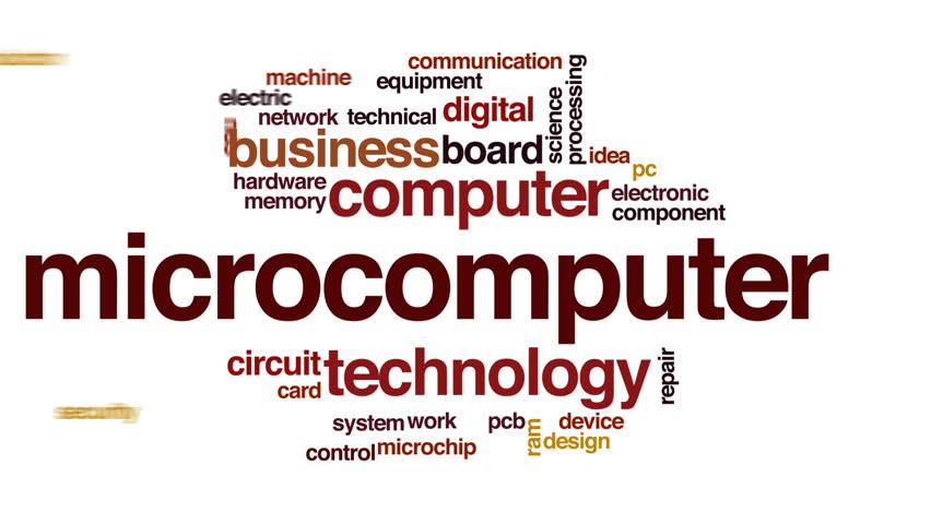 Header of microcomputer