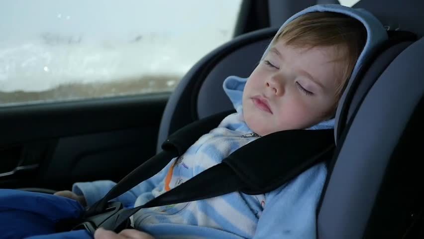 Sleeping In Car >> The Baby Is Sleeping In Stock Footage Video 100 Royalty Free 22687363 Shutterstock