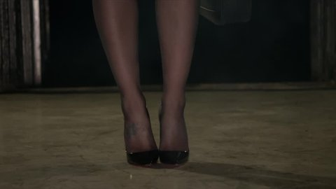 Sexy Legs and hi heels shoes