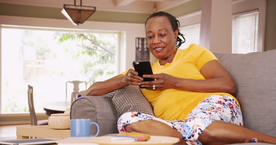 Image result for black woman resting at home