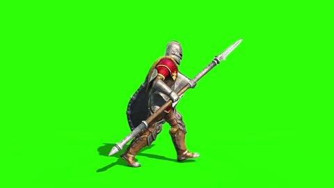Centurion Roman Soldier Walk Side Lance Helmet Shield