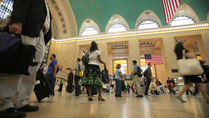 New York - Circa 2009: Grand Central Station in 2009. The interior of Grand Central Station in New York City, New York.