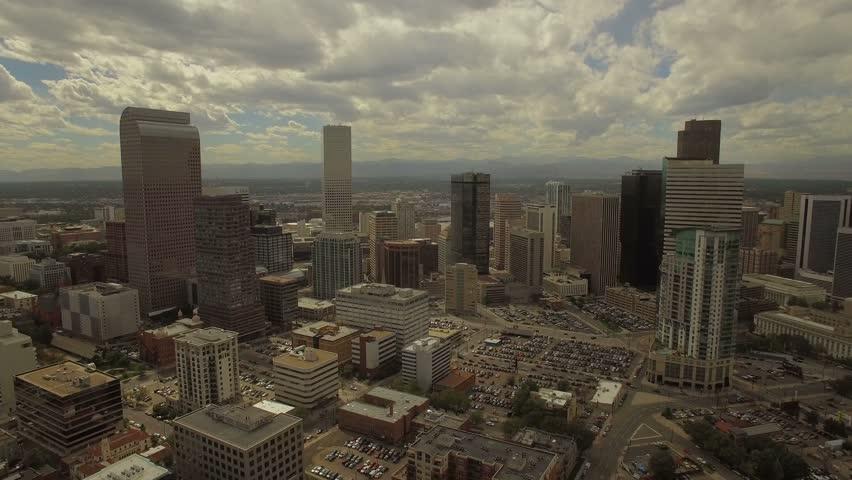 Aerial Colorado Denver 4K Aerial video of Denver in Colorado. | Shutterstock HD Video #23278213