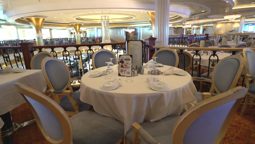 beautiful and elegant fine dining restaurant cruise ship dining room october adventure