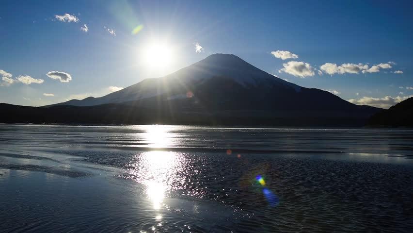 Mt.fuji from lake yamanaka | Shutterstock HD Video #23506903