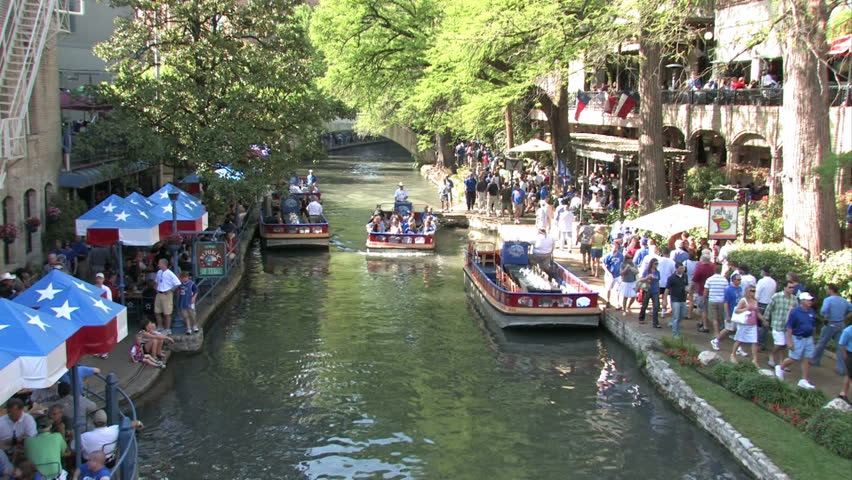 San Antonio Texas Circa 2008 Stock Footage Video 100 Royalty Free 2351033 Shutterstock