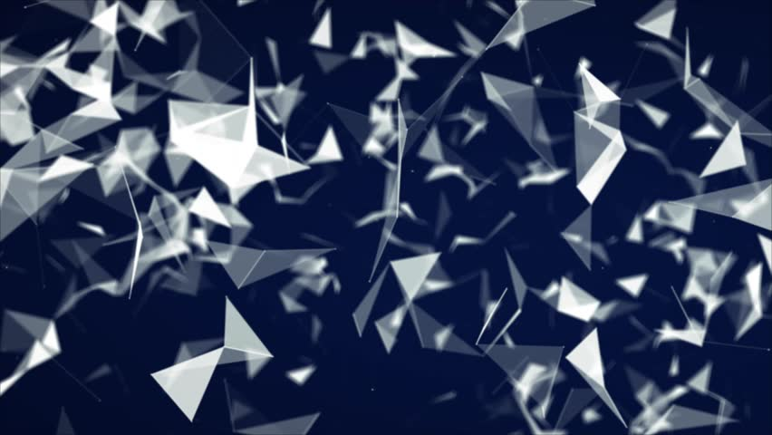 Abstract blue geometrical background  | Shutterstock HD Video #23588143