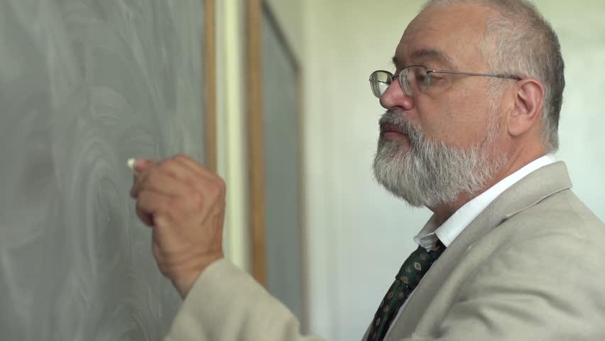 Header of professor