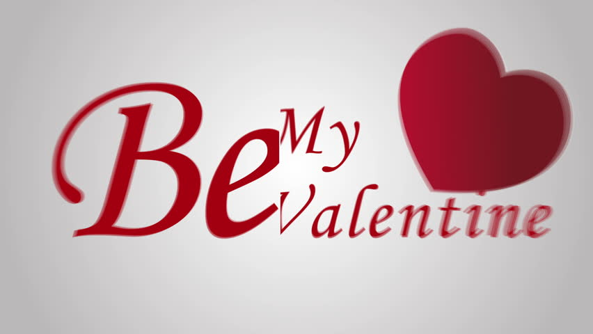 Be my valentine love with motion graphic  | Shutterstock HD Video #23710453